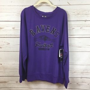 Ladies NFL Team Apparel Baltimore Ravens Shirt